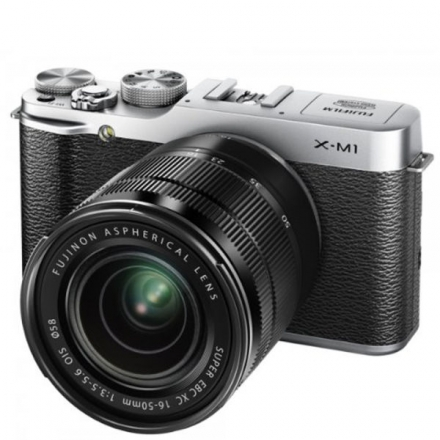 FUJIFILM X-M1 COMPACT SYSTEM CAMERA WITH 16-50MM IS LENS