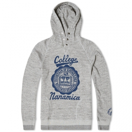 Nanamica Hooded College Pullover