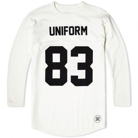 Uniform Experiment 3/4 Sleeve Numbering Football Tee