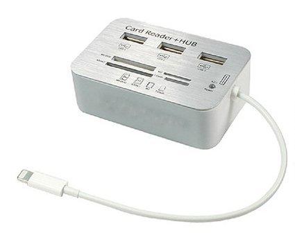 Liying ® New 3 x HUB Camera Connection Kit