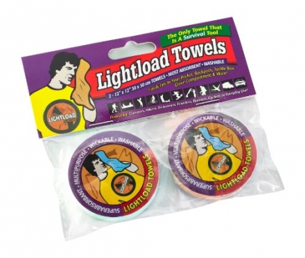 Lightload Towels-The Only Towels That Are Life Savers!