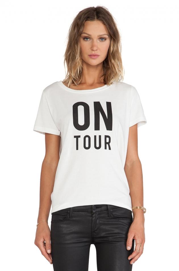 HOUPIEPRE ON TOUR GROUPIE T-SHIRT