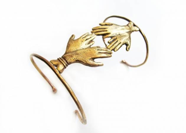 Conduit Cuff Bracelet