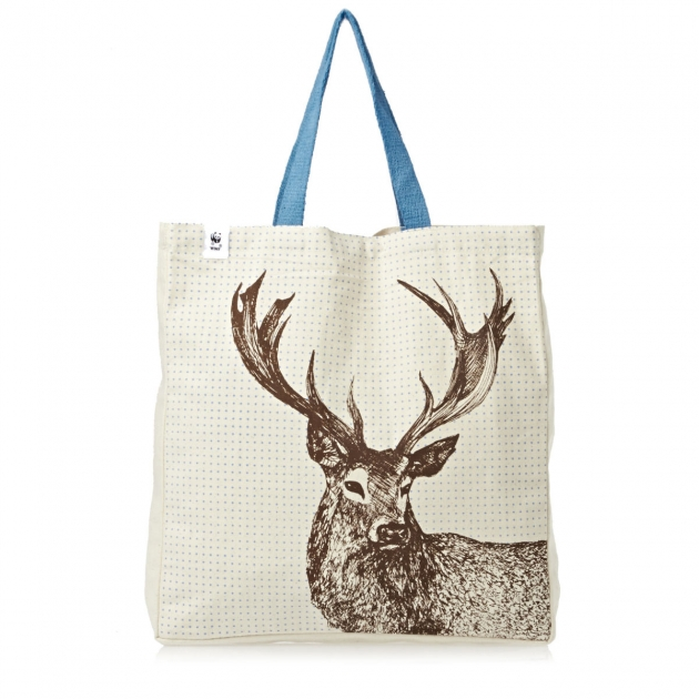 Talented Stag Print Tote By Cherith Harrison Shopper Bag