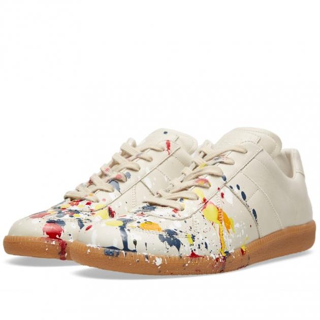 Maison Martin Margiela 22 Paint Splash Replica Sneaker