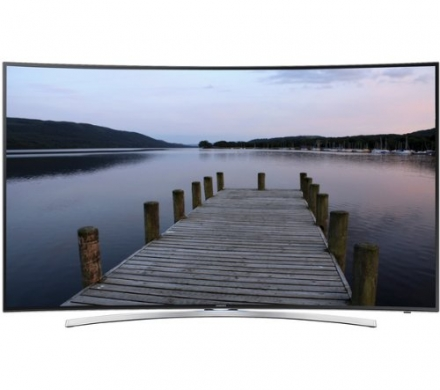 Samsung UE55H8000 Curved freeview HD Television