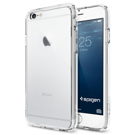 Spigen iPhone 6 Case Ultra Hybrid Crystal clear