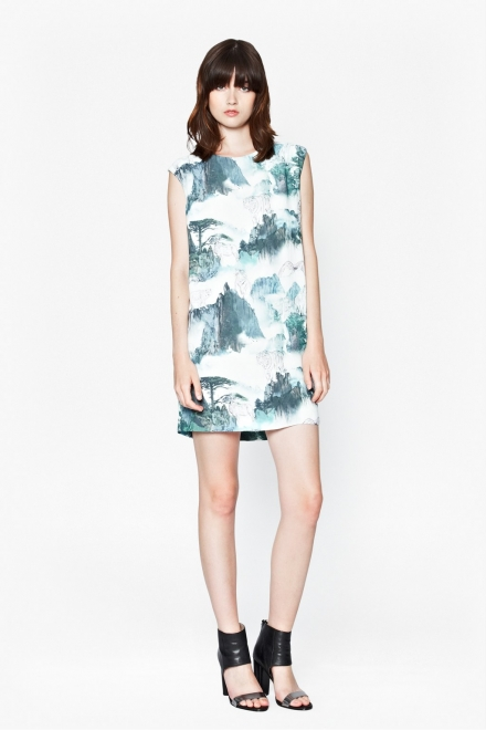 MISTY MOUNTAIN SHIFT DRESS