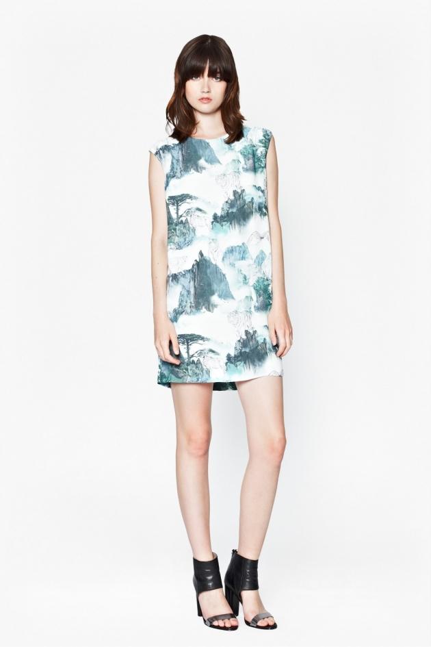 MISTY MOUNTAIN SHIFT DRESS