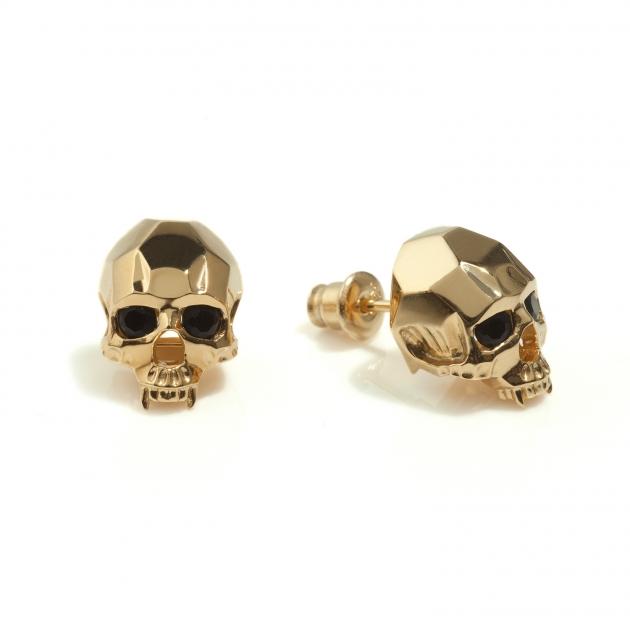 Kasun Vampire Skull Stud Earrings