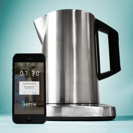 IKETTLE THE WORLD'S FIRST WIFI KETTLE