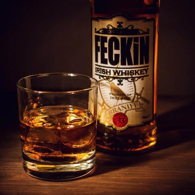 FECKIN IRISH WHISKEY