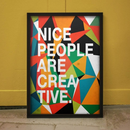 NICE PEOPLE ARE CREATIVE