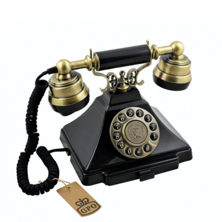 CLASSIC GPO DUKE TELEPHONE WITH PUSH BUTTON DIAL