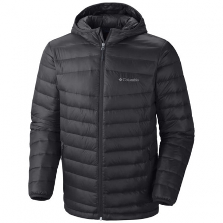 COLUMBIA MEN'S PLATINUM 860 TURBODOWN HOODED DOWN JACKET