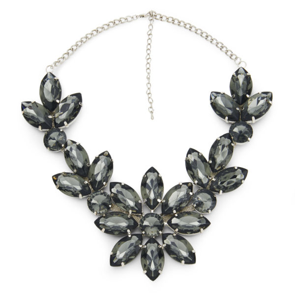 IMPULSE WOMEN'S FLOWER GEM NECKLACE