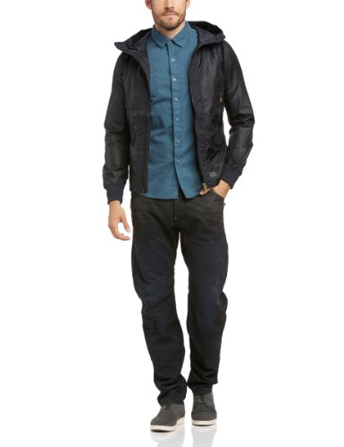 G-Star Men's Tamson Hdd Mix Overshirt Long Sleeve Jacket