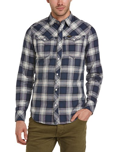 G-Star Men's Arc 3D Long Sleeve Casual Shirt
