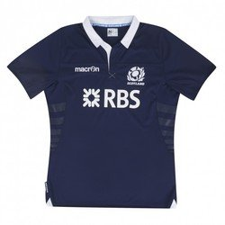 MACRON Scotland Home Replica Adult Rugby Jersey