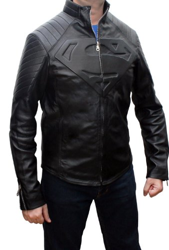 Superman Smallville Black Jacket ►BEST SELLER◄