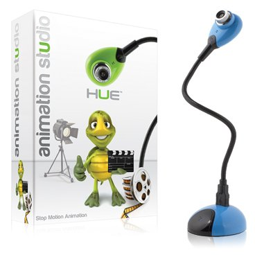Hue Animation Studio (Blue): the complete stop motion animation kit with camera for Windows PCs and