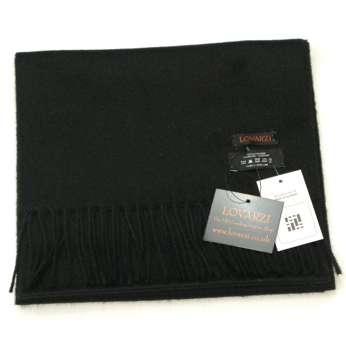 Lovarzi Cashmere Scarf for Men & Women – 100% Pure Cashmere Scarf Made in Scotland