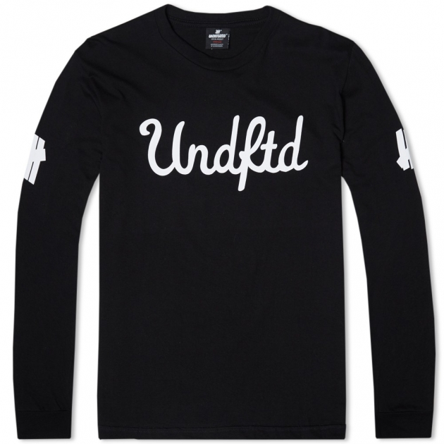 Undefeated Long Sleeve 5 Script Tee