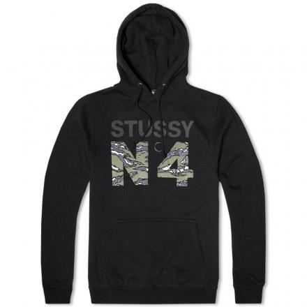 Stussy NO.4 Camo Hoody