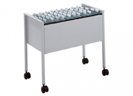 Durable 3079/10 Standard Suspension File Trolley 80 Foolscap