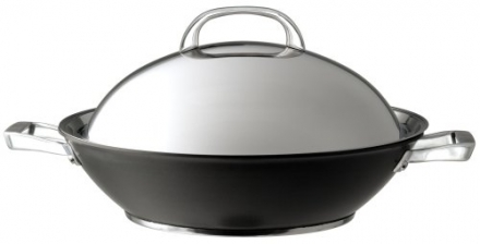 Circulon Infinite Hard Anodised Covered Stirfry Wok – 36 cm