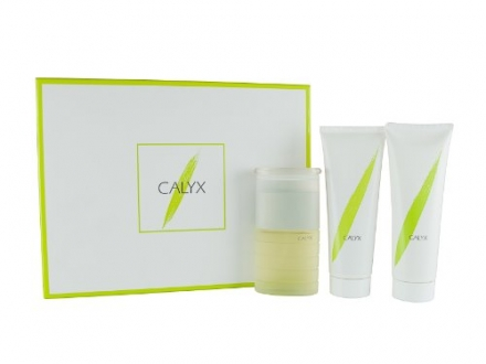 Calyx Gift Set for Her Eau De Toilette 50ml and Body Lotion 100ml and Shower Gel 100ml