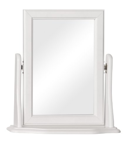 NJA Furniture Copenhagen Dressing Table Mirror, 47 x 49 x 14 cm, White
