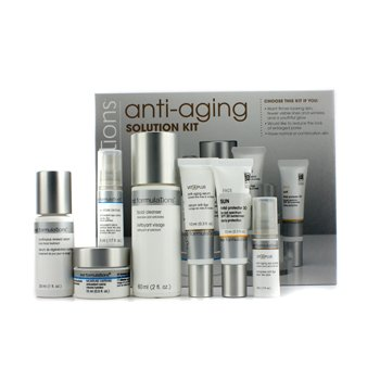 MD Formulations – Anti-Aging Solution Kit: Cleanser 60ml + Serum 30ml + Moisture Creme 15ml + Serum