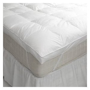 King size goose feather and down mattress topper – feather bed