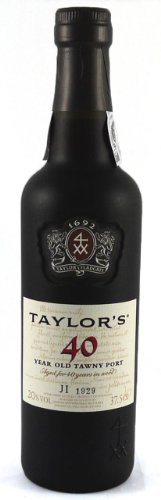TAYLORS 40 YEAR OLD TAWNY PORT 37.5CL, Luxury Retirement, Corporate, Thank You, Wedding Anniversary