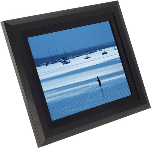 KitVision 12 inch Digital Photo Frame with Built-In Stand Supporting SD/MMC/MS Memory Cards – Black