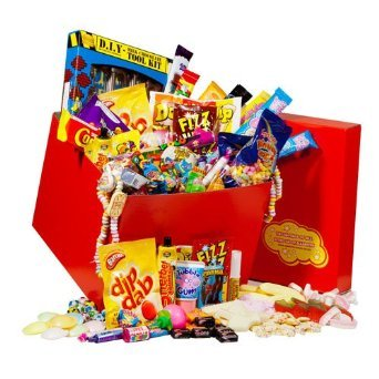Giant Retro Sweets & Candy Gift Hamper – Packed with Every Retro Sweet You Could Think of – The Idea