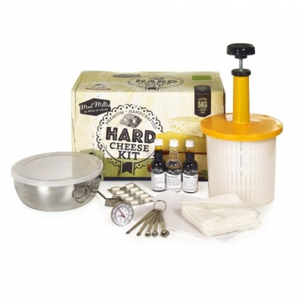 Mad Millie Make Your Own Hard Cheese Gift Kit Just Add Milk