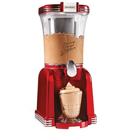 SMART Nostalgia 2in1 Retro Slush and Soft Ice Cream Maker