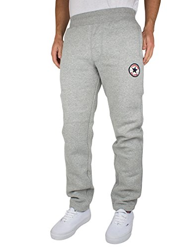 Converse – Grey Marl Core Elastic Joggers – Men