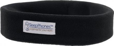 SleepPhones® Wireless Ultra-Comfortable Bluetooth Headband Headphones – Black (Medium)
