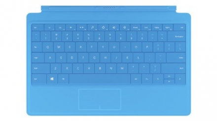 Microsoft Surface Type Cover 2 (w Backlighting) Keyboard – Blue for Surface Pro 2 / Pro / RT 2 /RT (