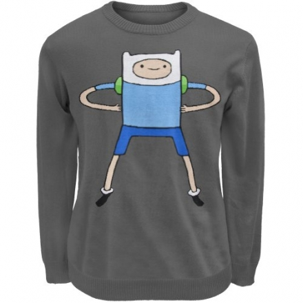 Old Glory Men's Adventure Time – Finn Sweater