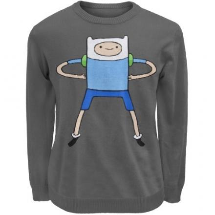 Old Glory Men's Adventure Time – Finn Sweater