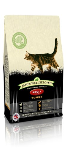 James Wellbeloved Turkey Adult Dry Cat Food 10 Kg