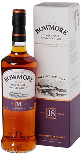 Bowmore Whiskey 18 Year Old 70cl
