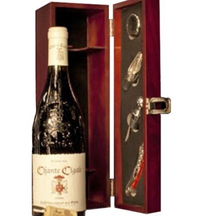 Chateauneuf du Pape bar gift wine set