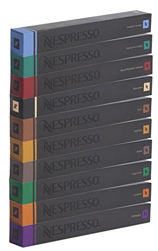 100 NESPRESSO CAPSULES MIXED VARIETY