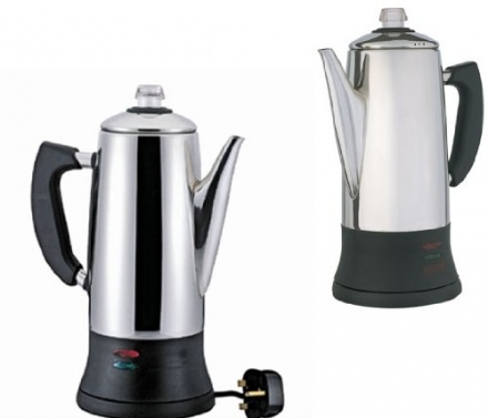 Good Ideas Best Selling Electric 12 Cup Stainless Steel Coffee Percolator 1.8L Coffeemaker (1246) Ma