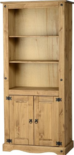 Corona 2-Door Bookcase